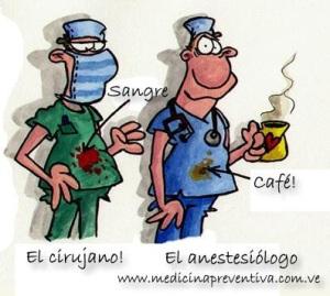 cirujano anestesista